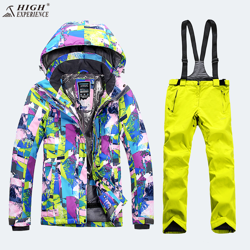 Winter Suit Ski Jacket Ski Suit Women Winter Jacket Female Snowboard Jacket Skiing Sport Suit Snowboarding Suits Snow Suit Warm