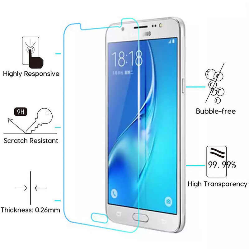 Protective Glass For Samsung J5 2016 J3 J1 J7 6 J 1 3 5 7 Tempered Glas Screen Protector On The Galaxy J16 J36 J52016 5j 3j Film