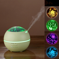 150ML Air Humidifier Ultrasonic Aroma Essential Oil Diffuser With Adapter Night Light Aromatherapy Mist Maker For Home Office Humidifiers     -