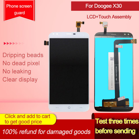 Phone Screen Accessory For Doogee X30 Lcd Display Touch Screen In