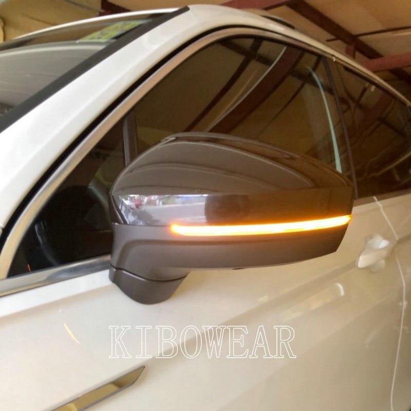 Динамическое зеркало для Volkswagen Tiguan MK2 II R 5N, для Фольксваген светильник светодиодный указатель поворота, 2017 2018