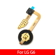 For LG G6 Fingerprint Sensor Scanner Touch ID Connect Motherboard home button Flex Cable(China)