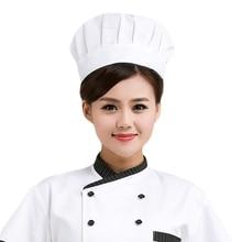 Шапки шеф-повара для мужчин и женщин для кухни, ресторана, повара, рабочая одежда, шапки шеф-повара, кафе, барбекю, грибы, рабочие шапки, головные уборы официантов