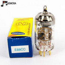Tubo de vacío JJ E88CC de Eslovaquia, recambio de pines dorados, ECC88, 6922, 6DJ8, 6N11, tubo de electrones, amplificador de Audio HIFI