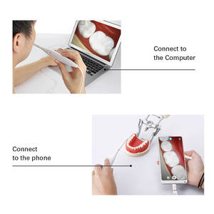 Image 5 - AZDENT Dental Intraoral Camera 720P HD Teeth Mirror LED Light Defidition Camera Waterproof Endoscope Monitoring Inspection Tool