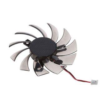 75MM PLD08010S12H 2Pin Cooler Fan Graphics Card Cooling Fan For Gigabyte 6850 7970 GTX 460 GTX560Ti R270X R7 260x image
