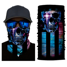 Bike Smile Joker Face Mask Cool Magic Skull Motorcycle Ski Headband Sport Outdoor Sports Neck Warmer Cycling Face Mask bjmoto cool skeleton skull motorcycle ski headband sport outdoor neck face mask mtb racing cycling windproof scarf balaclava