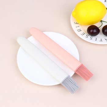 1pc BBQ Brush Silicone Baking Cake Bread Pastry Liquid Oil Butter Food Steak Pen Tube Brush Barbecue Kitchen Accessories Tools