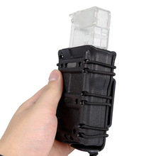 Tactical 5.56 Magazine Pouch Quick Release Hunting Army Fast Mag Shooting Paintball Pouches
