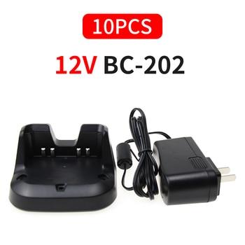 10x+ICOM+BC-202+Chargeur+Rapide+pour+BP-271%2FBP-272+pour+ID-31A+ID-31E+ID-51A+ID-51E+Radios