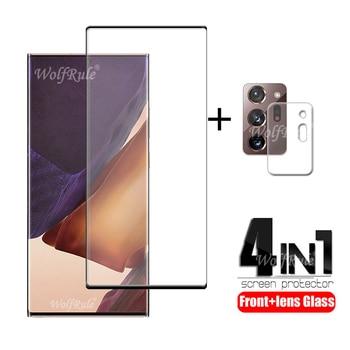 4-in-1 Per Samsung Galaxy Note 20 Ultra di Vetro Per La Nota di Samsung 20 Ultra Protetor Schermo Per samsung S20 Più Nota 20 Ultra di Vetro