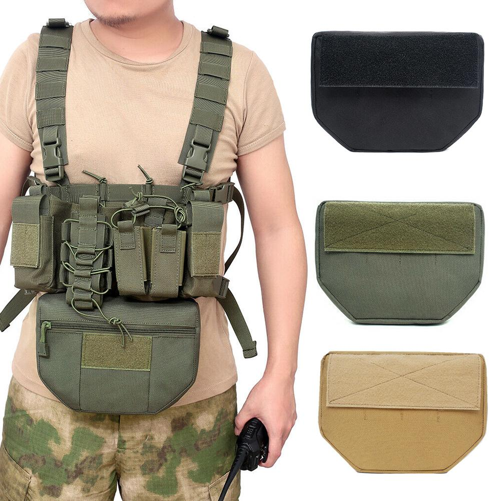 Outdoor Hunting Camping Molle Military Belly Drop Pouch Fanny Pack Storage Bag Belly Banana Bum Hip Chest Belt Tactical Bag