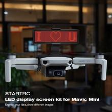 STARTRC Mavic מיני LED תצוגת מסך ערכת הרחבת אביזרי לdji Mavic Mavic מיני Drone