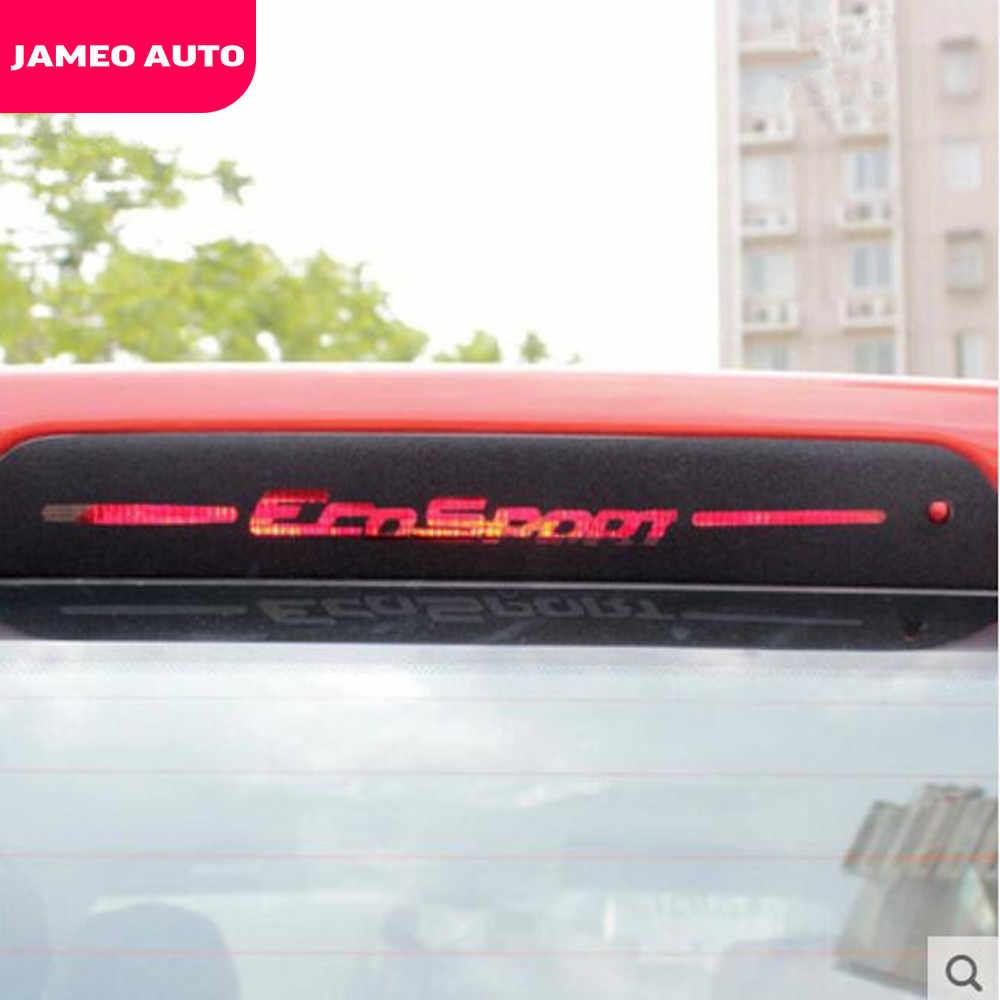 الكربون الألياف سيارة الخلفية أضواء الفرامل ملصق Brakelight ملصقات ل فورد Ecosport 2012 2013 2014 2015 2016 2017 2018 2019 2020