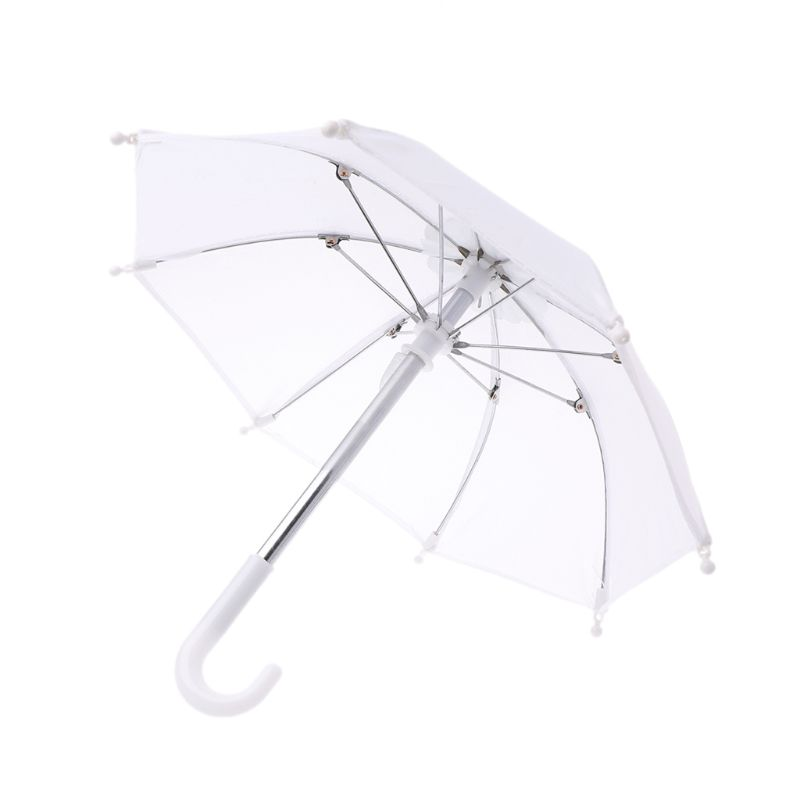 Colorful Mini Umbrella Rain Gear For Blythe American Doll 18 Inch Doll Accessories Baby Photography Props Kids Toy Y4QA