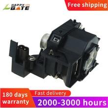 Happybate ELPLP44/V13H010L44 用のハウジングと互換ランプ EB DM2 EH DM2 EMP DE1 EMP DM1 MOVIEMATE 50 MOVIEM