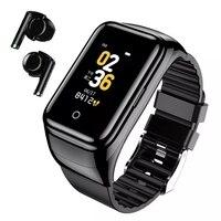 Reloj inteligente M7 para hombre, pulsera con auriculares BT5.0, Bluetooth, Monitor de ritmo cardíaco y llamadas