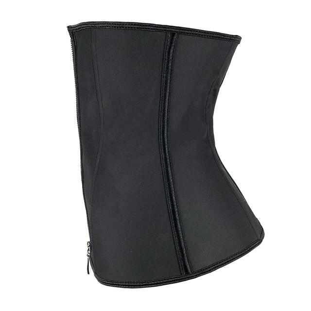 XXS-6XL النساء اللاتكس المطاط مدرب خصر محدد شكل الجسم هوك سستة المشدات مشد للخصر القمم التخسيس ملابس داخلية حزام تنحيف 5
