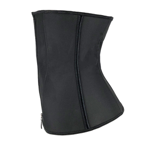 Image 5 - XXS 6XL kobiety guma lateksowa gorset Waist Trainer urządzenie do modelowania sylwetki Hook Zipper gorsety pas wyszczuplający w talii topy odchudzanie Shapewear pas wąski pasek