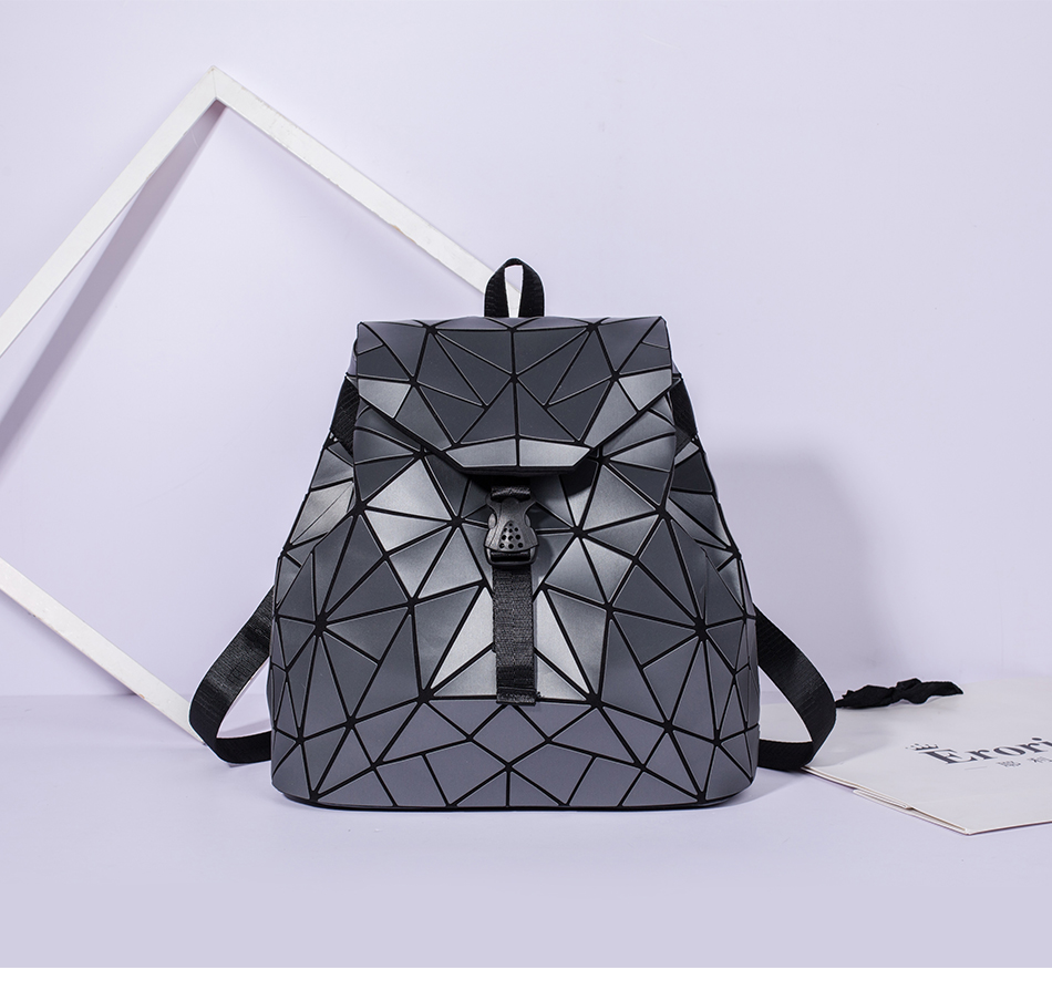 Hf51802aa52b848dc806a88f492f2aed9d - Women backpack school bag large capacity foldable geometric