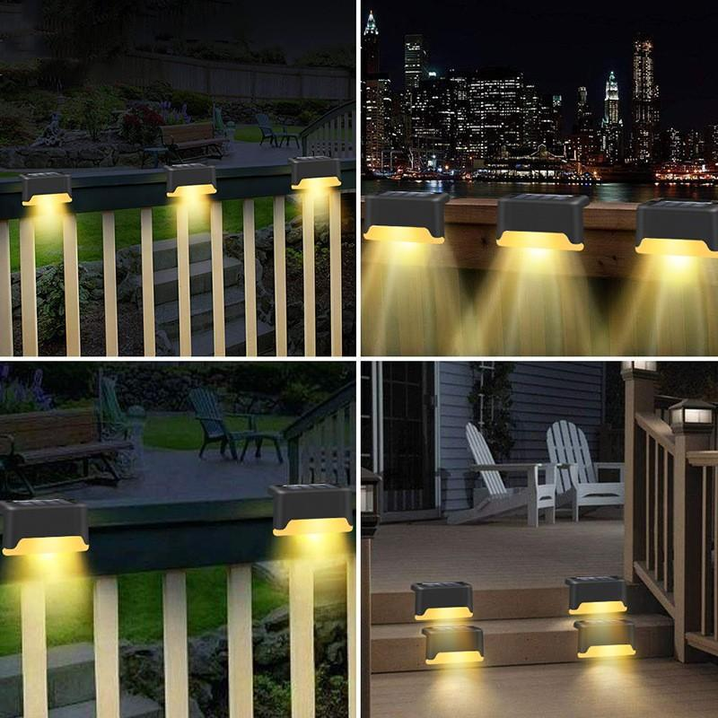 Outdoor Solar Deck Lights Super Bright
