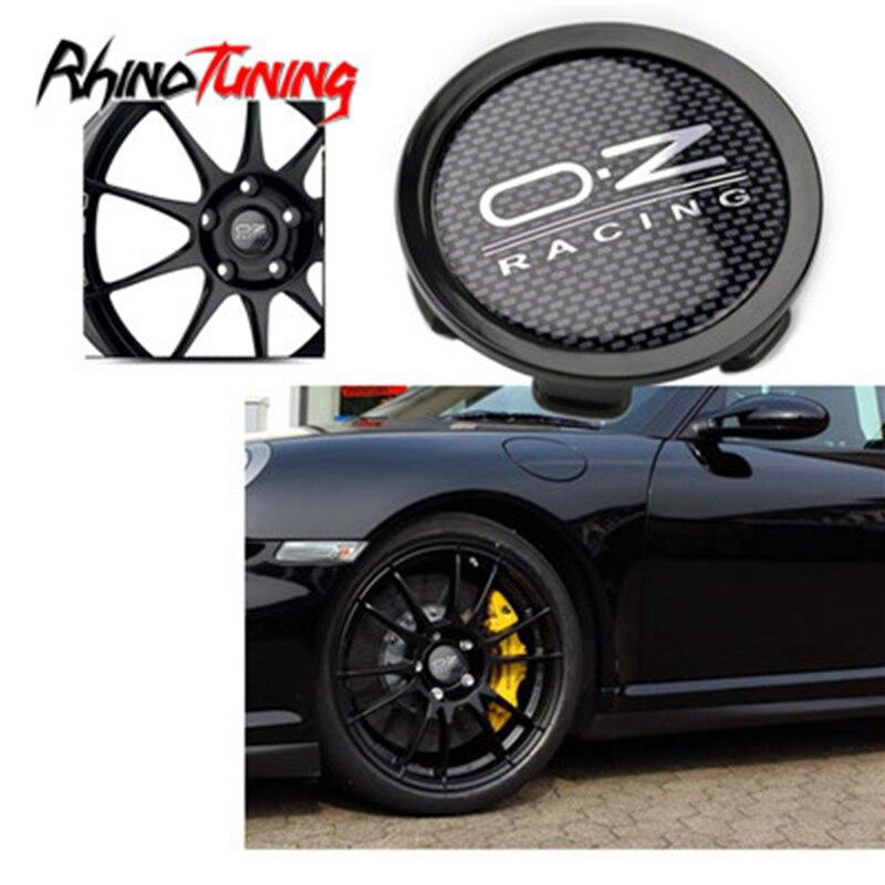 4 шт. 75 мм 70 мм колпачок центра колеса s для OZ Racing M608 колпачок ступицы автомобиля для дисков эмблема подходит для suперфорации