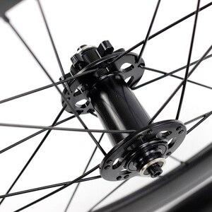 "Image 5 - SILVEROCK 합금 바퀴 406 451 20 ""1 1/8"" 22in 디스크 브레이크 40mm Clincher 20H G2 NEO FIT Blast Minivelo 접이식 자전거 바퀴 세트"