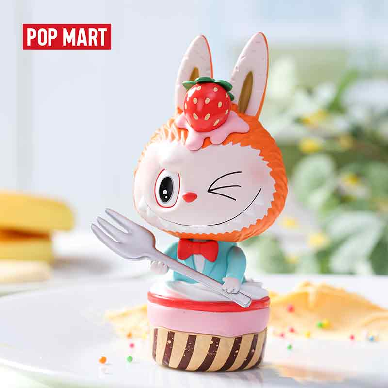 POPMART The Monster Patisseries Series Toys Figure Action Figure Birthday Gift Kid Toy Free Shipping