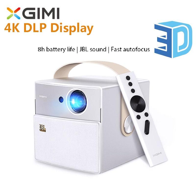 XGIMI CC Mini Tragbare Projektor MSTAR 6A638 Bluetooth Android Wireless Projektor LED Full HD 1080P 4K DLP Display unterstützung 3D