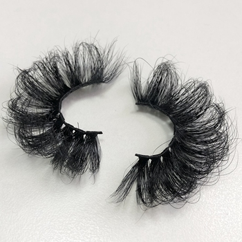 Buzzme Volume Mink Lashes Dramatic Fluffy 25mm Long Eyelashes Messy Reusable Cruelty Free Eye Lash 1