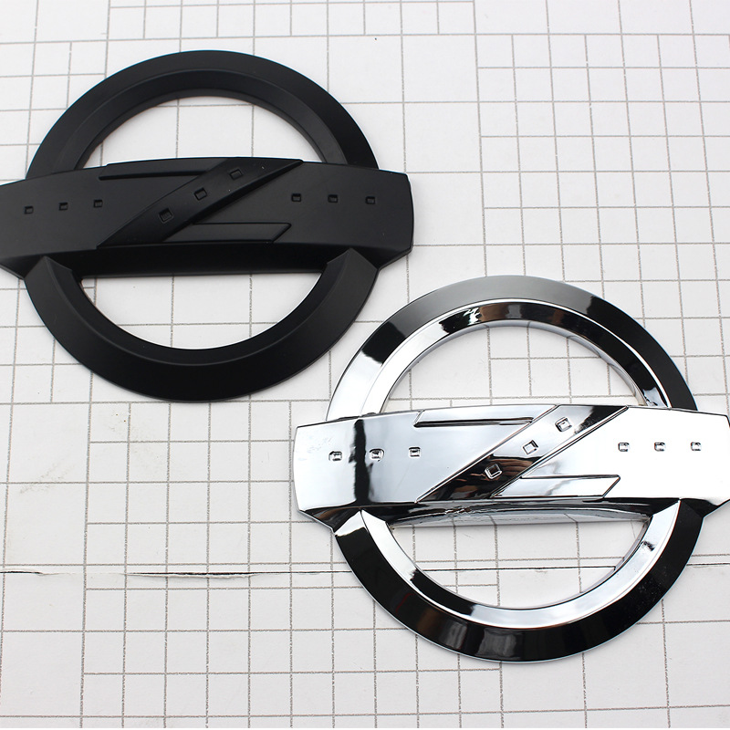 Suitable For Car Logo Metal Modified Car Stickers 350Z 370Z Nismo Car Logo Zhi Z Trunk Labeling