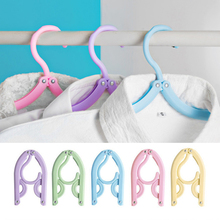 Portable Travel Clothes Hanger Folding Hangers Space Saving Laundry Supplies DAG-ship