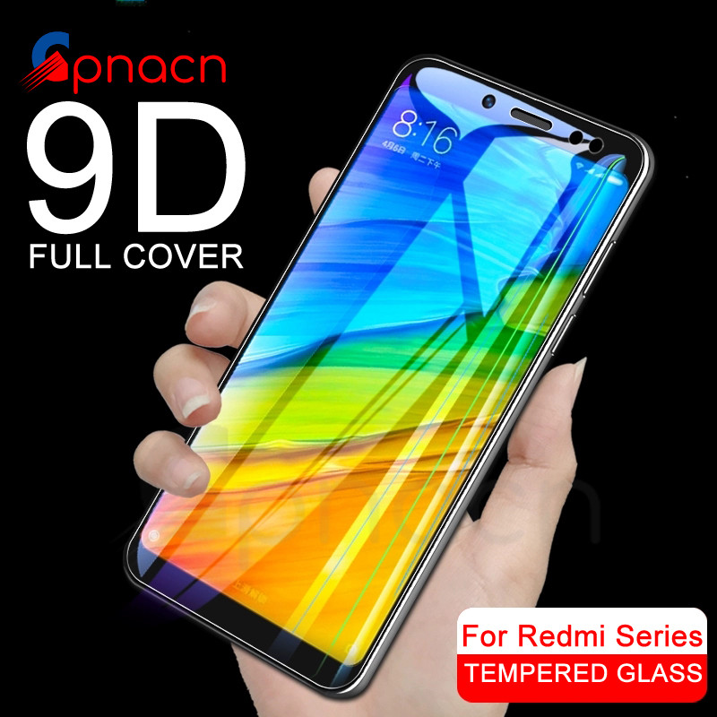 <font><b>9D</b></font> Protective Glass on the For <font><b>Xiaomi</b></font> <font><b>Redmi</b></font> 5 Plus S2 <font><b>4X</b></font> 5A Screen Protector For <font><b>Redmi</b></font> 4 4A Go K20 Pro Tempered Glass Film Case image