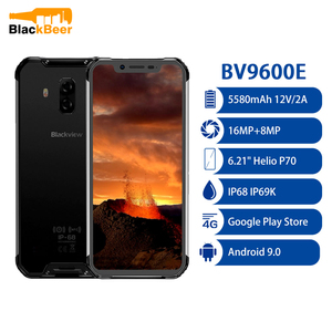 Смартфон Blackview BV9600E, Android 6,21 дюйма, Восьмиядерный HelioP70, IP68 водонепроницаемый прочный мобильный телефон, 4 Гб ОЗУ 128 Гб ПЗУ, сотовый телефон, nfc