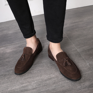 Image 5 - Zapatos informales de 37 48 para hombre, mocasines de lujo elegantes y cómodos de talla grande, mocasines transpirables de marca para hombre #181
