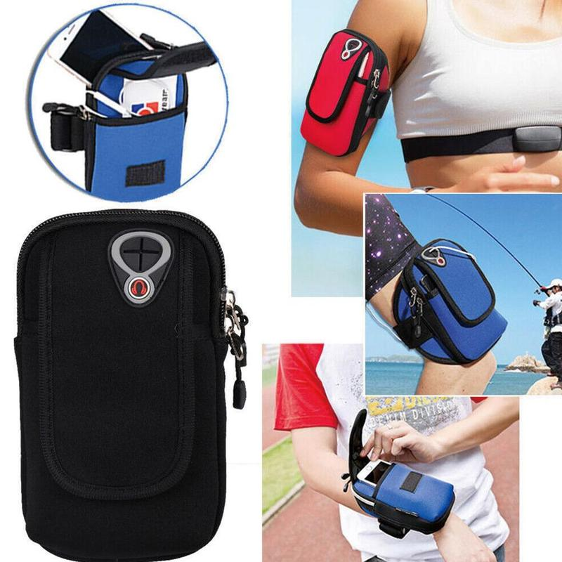 Outdoor Sports Mobile Phone Arm Bag Waterproof Universal Running Iphone Smartphone Armband Case Arm Band Bag For Sports Cycling