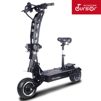 2020 TOURSOR E8P higher version 11inch Panasonic 60V72V5600W7000W Electric Scooter with Hydraulic shock absorption