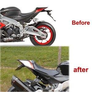 Image 5 - Kit déliminateur de garde boue arrière, pour Aprilia RSV4 2009 2020 Tuono, pour RS4 125 RS4 50 2011 2020