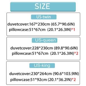 Image 2 - Yimeis Weihnachten Bettwäsche Sets 3 stücke Bettdecken Und Bettwäsche Sets Tröster Bettwäsche Doppelbett BE45201