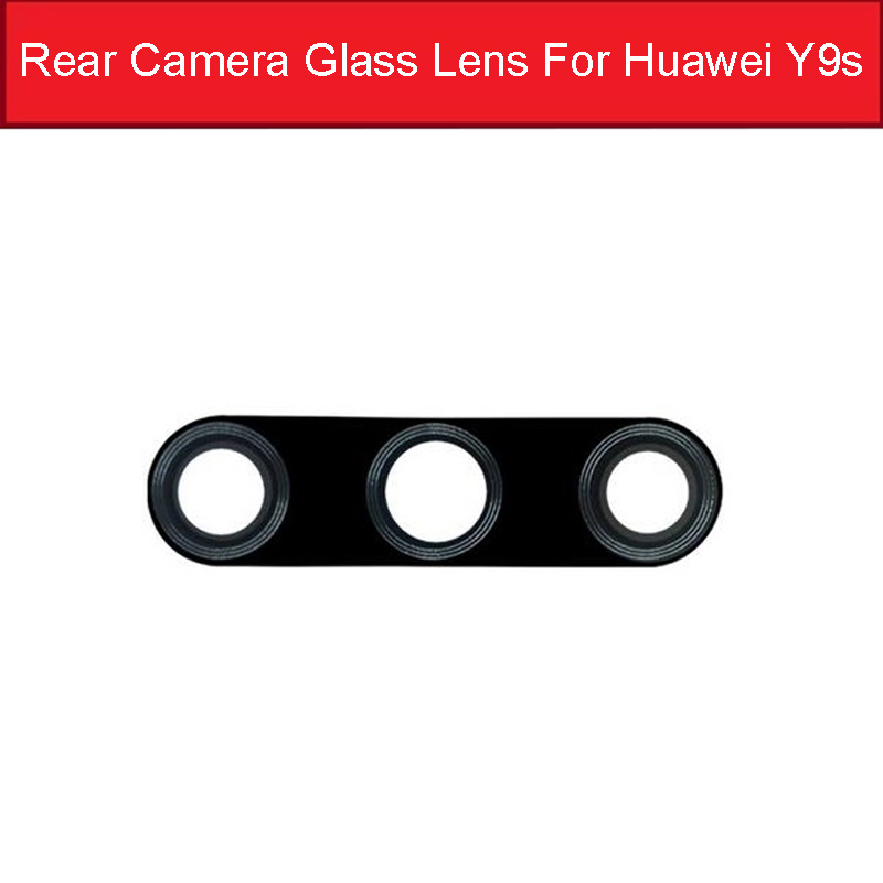 Back Camera Glass Lens For Huawei Honor Y9s Main Camera Glass Lens With Sticker For Honor 9X HLK-AL00/TL00 9X Pro HLK-AL10/TL10