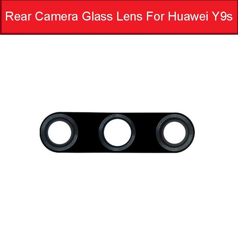 Back Camera Glass Lens For Huawei Honor Y9s Main Camera Glass Lens With Sticker For Honor 9X HLK-AL00/TL00 9X Pro HLK-AL10/TL10