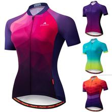 MILOTO 2020 Frauen Radfahren Jersey Tops Sommer Radfahren Kleidung Ropa Ciclismo Kurzarm mtb Bike Jersey Hemd Maillot Ciclismo