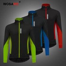 Wosawe водонепроницаемые мужские куртки для верховой езды Повседневная