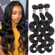 Satai Body Wave Human Hair Bundles 8-40 inch M Remy Brazilia