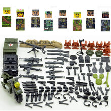 Vietnam Oorlog WW2 Us Army Swat Soldier Militaire Cs Swat Forces Bouwstenen Cijfers Bricks Educatief Speelgoed Jongens Kinderen Geschenken(China)
