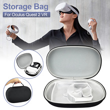 Protable VR Accessories For Oculus Quest 2 VR Headset Travel Carrying Case Oxford Cloth Storage Box For Oculus Quest 2 Hot Sale