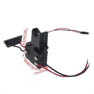 Image 5 - Электрическая дрель, пылезащитный контроль скорости, пусковой переключатель, переключатель постоянного тока 7,2 24 В, переключатель беспроводной дрели