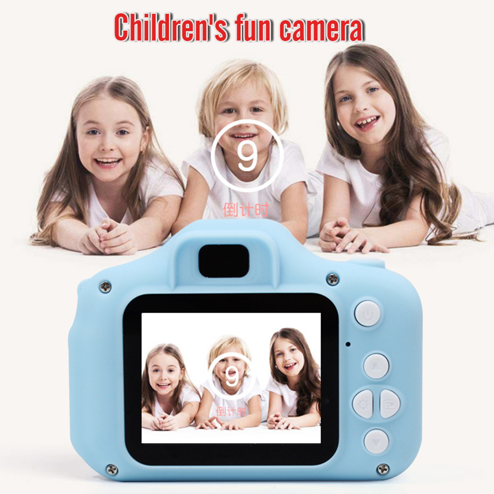 Children's Camera 1080 HD Screen Camera Video Toy 8 Megapixel Lovely Outdoor Photography Children's Cartoon Camera