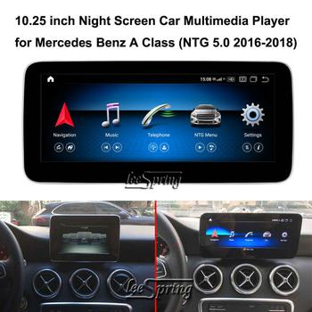 10.25 inch Car Multimedia Player for Mercedes Benz A class W176 A180 (NTG5.0 2016-2018) Car GPS Navigation Android 10.0 image