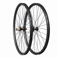 Полный углеродный 29ER MTB горный велосипед клинчер набор бескамерных колес 29